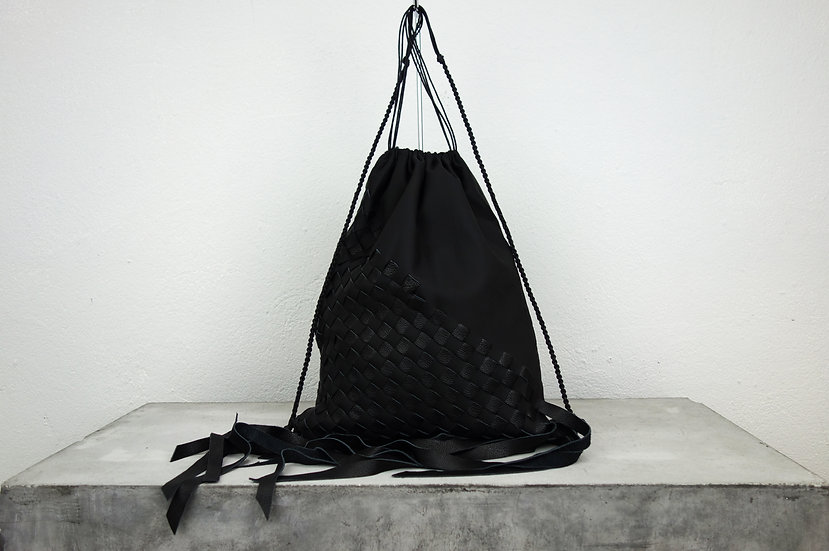 gymbag *reclaimed leather*