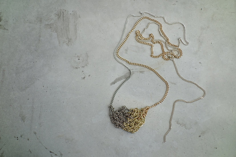 necklace *reclaimed metal*