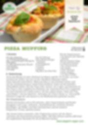 Pizza Muffins Vegan