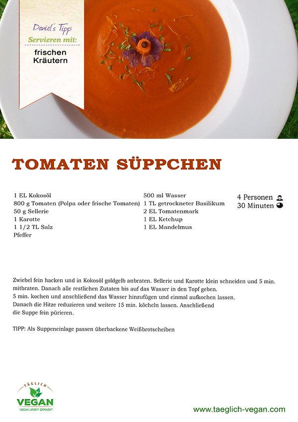 Tomatensuppe Vegan