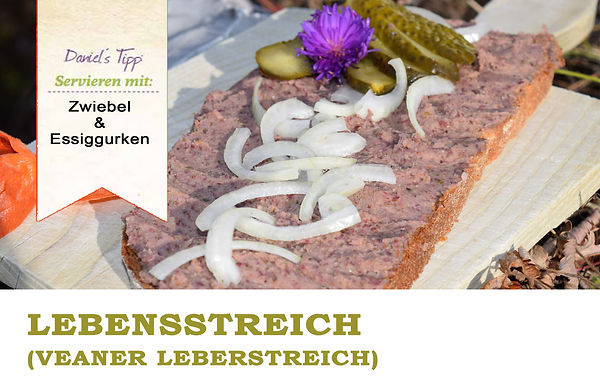 Leberaufstrich Leberwurst Vegan