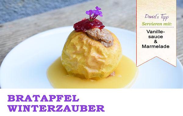 Bratapfel Winterzauber Vegan