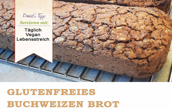 Glutenfreies Buchweizen Brot Vegan