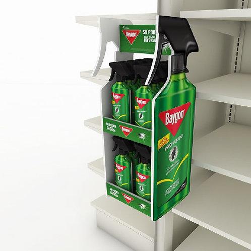 Pop-up Display on Base-rack