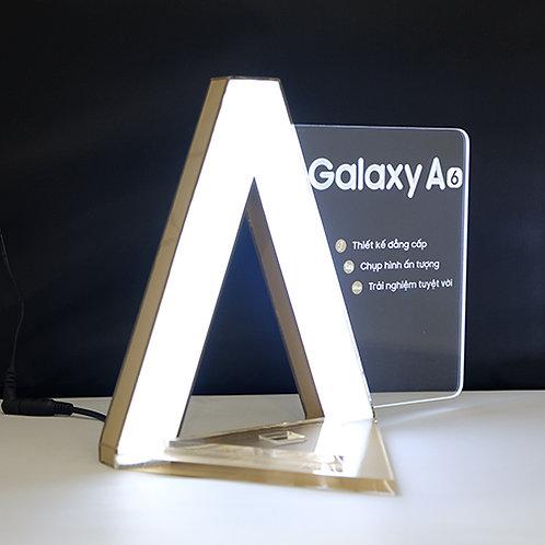 Product display with Lighting