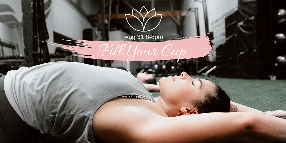 Fill Your Cup...
