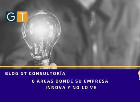 6 áreas donde su empresa innova y no lo ve