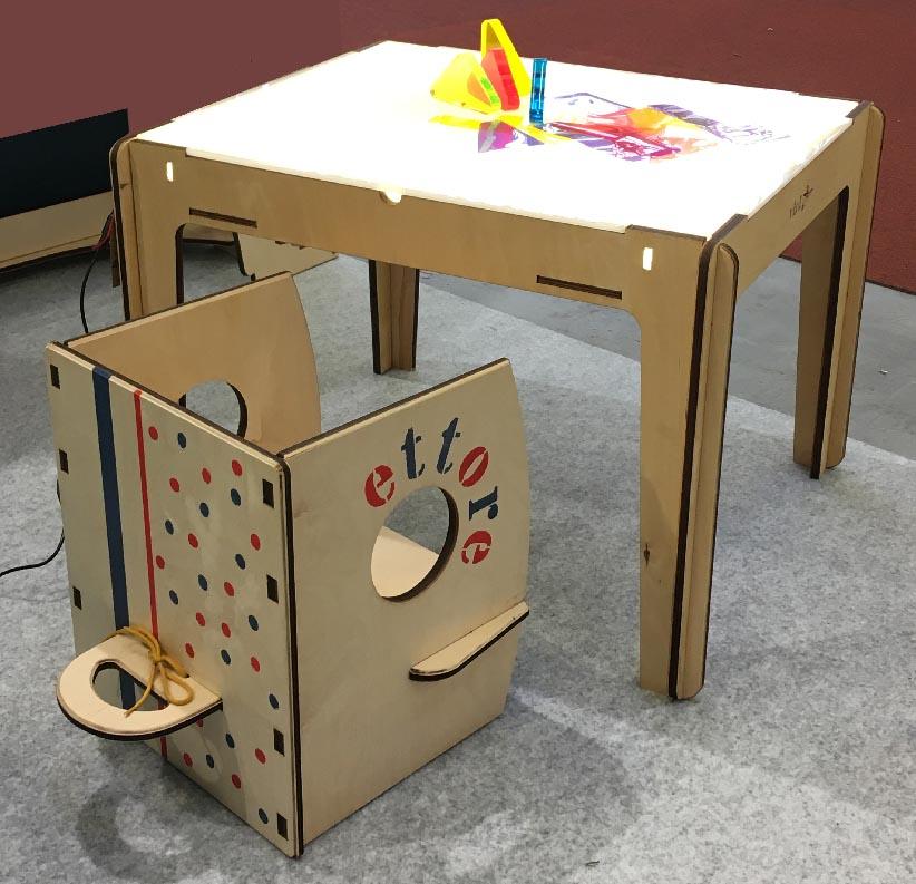tavolo sedia personalizzata p