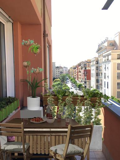 balcone nord