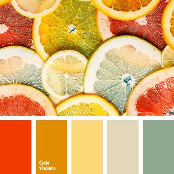 palette colori cameretta bambina