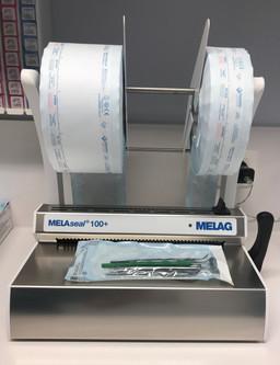 Emballage scellé des instruments avant stérilisation