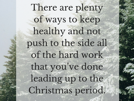 5 Tips to Stay Healthy(ish) This Christmas