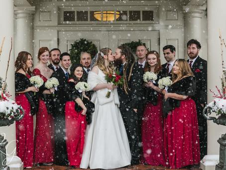 ELVERSON WINTER WONDERLAND WEDDING