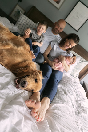 Philadelphia family newborn photographer