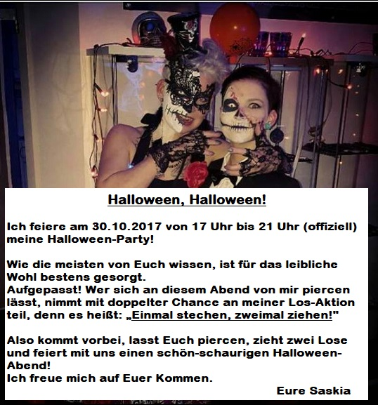 Halloween Aktion 2017