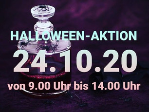 Halloween- Aktion