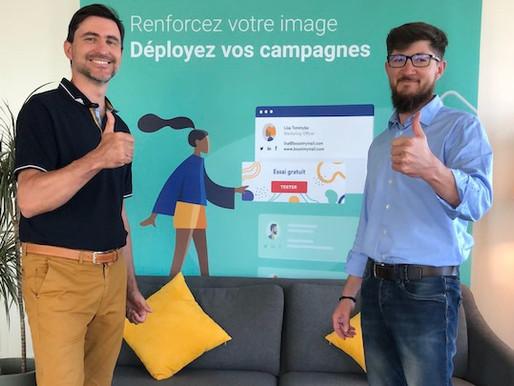 Marketing: Boost My Mail lève 1 million d'euros pour optimiser les signatures mails