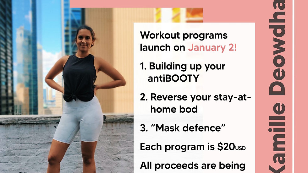 Workout With Kamille and BGD - Mask Defense