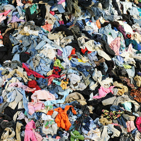 Let's talk about fashion pollution...