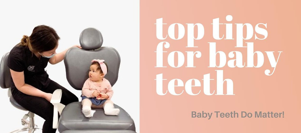 cute baby first dental appointment