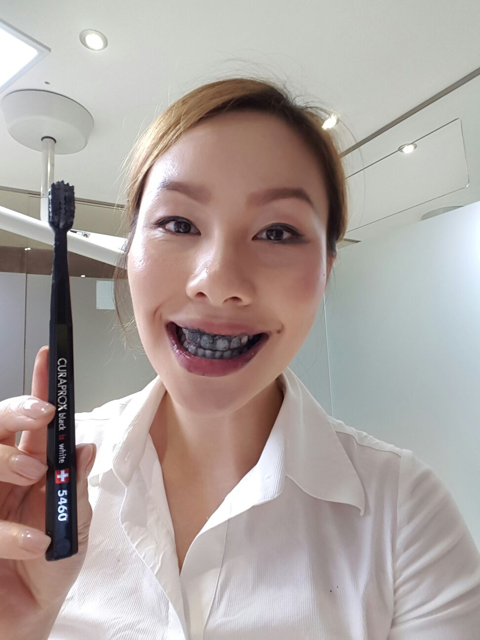 review curaprox black is white toothpaste your smile clinic
