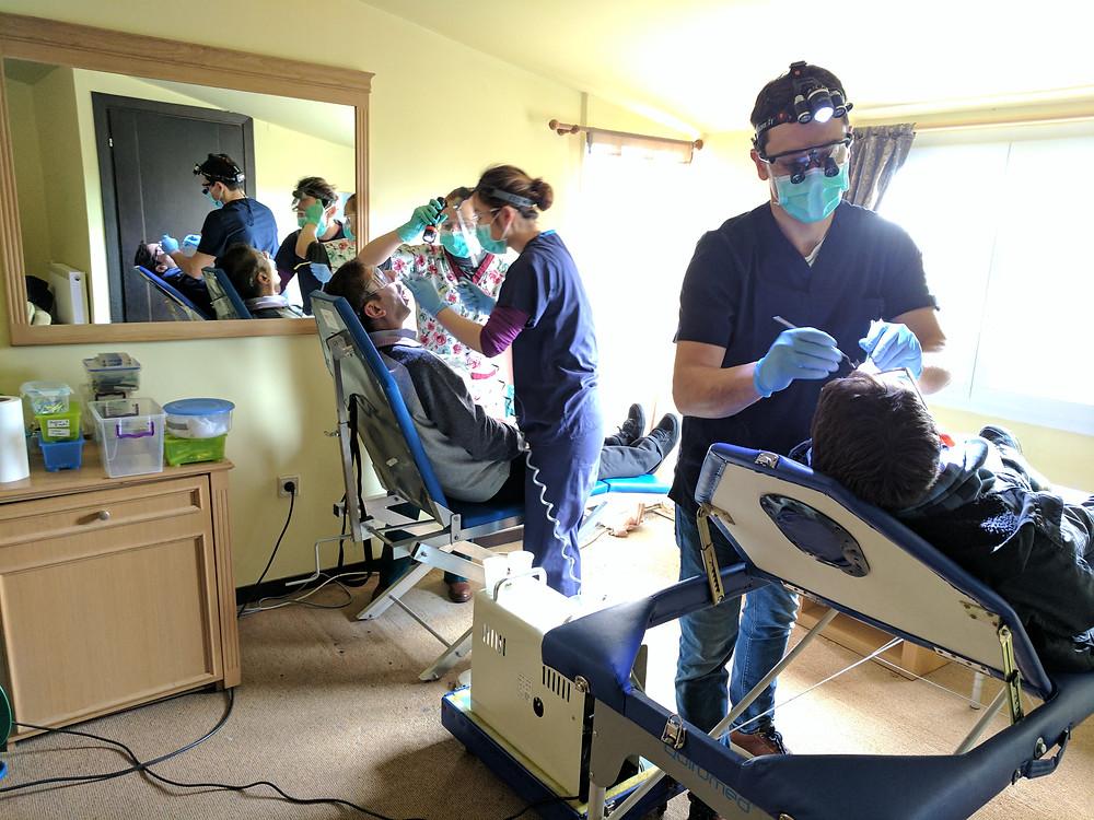Outreach dental clinic