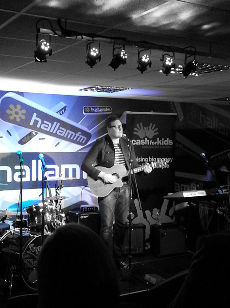 Dan at Hallam FM