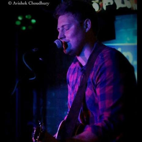 Dan singing at Maida Vale