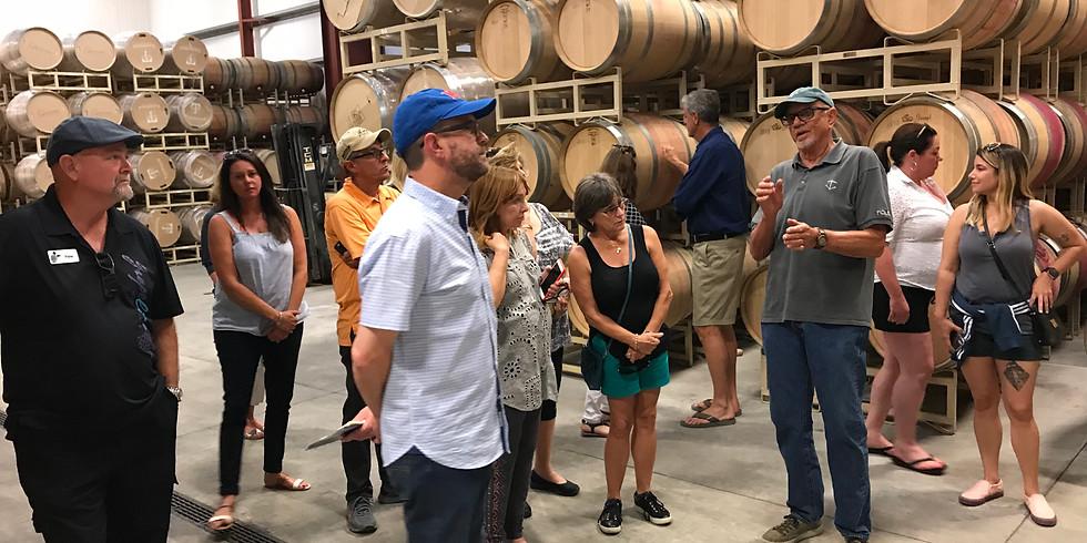 Sonoma & Napa Wine Tour for Royal Lakes Country Club