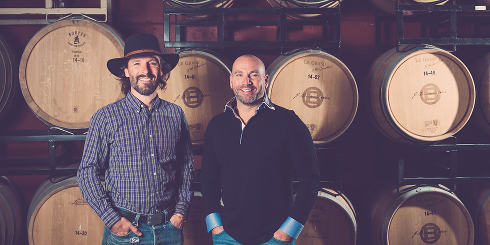 Tasting with John Bookwalter of Bookwalter Winery in Washington State