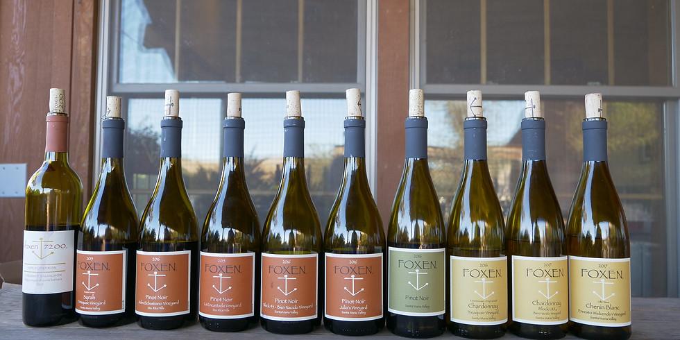 Tasting with Foxen Vineyards