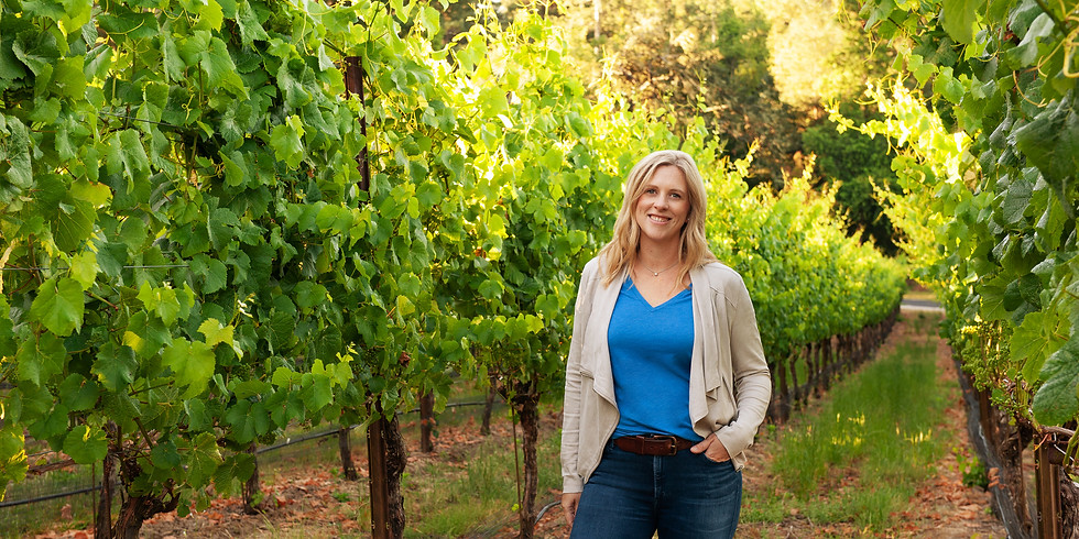 Tasting for a cause with Ms. Katy Wilson owner/winemaker LaRue Winery