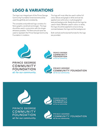PG Community Foundation Graphic Standards Manual