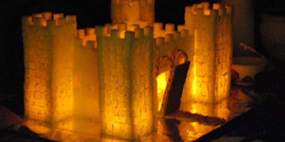 Sugar Cube Castle Building