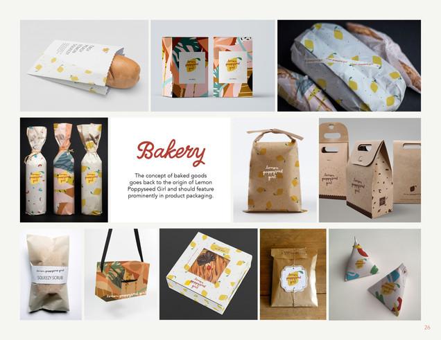 Lemon Poppyseed Girl Brand Applications