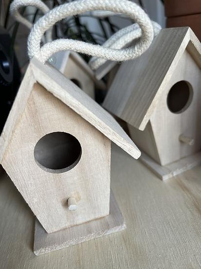 Tiny Birdhouse Craft