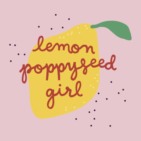 Lemon Poppyseed Girl Logo
