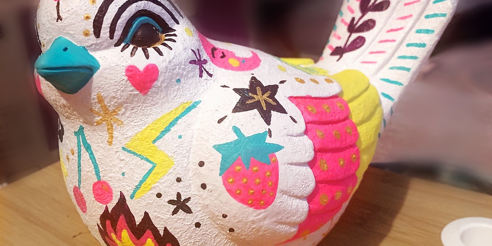 Patio Project - Tattooed Bird