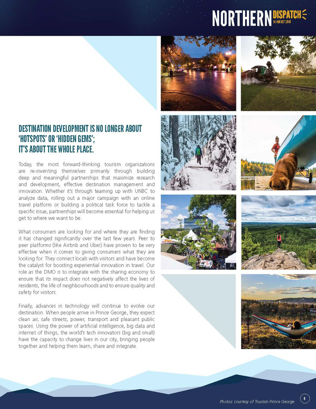 Northern Dispatch Tourism August 2018_Pa