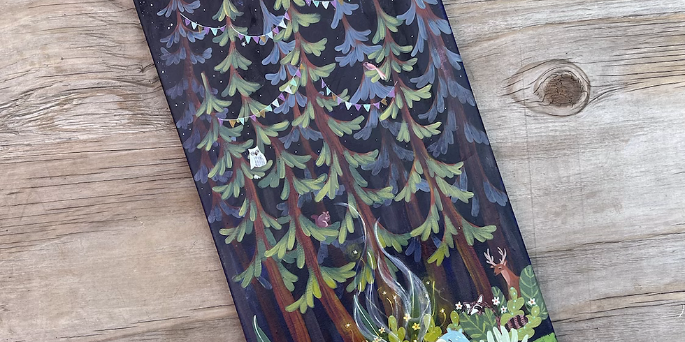 Forest Friends: Friday Night Paint Night