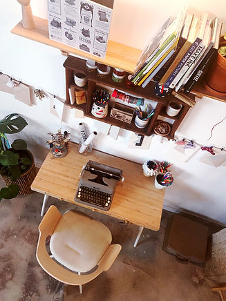 the makerie letter writing station.JPG