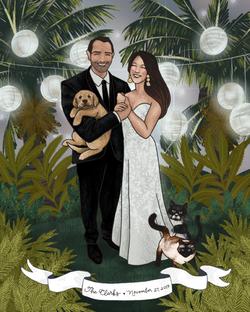the makerie family illustration clarks