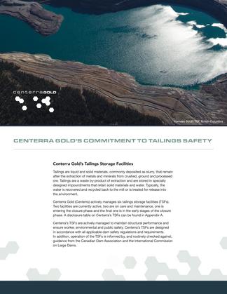 Centerra Gold Corporate Document