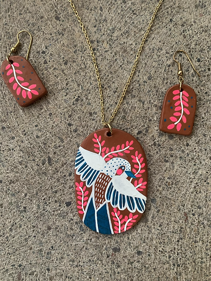 Painted Terracotta Jewelry