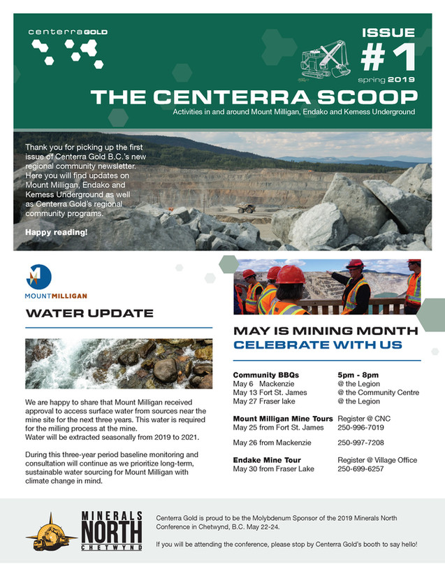 The Centerra Scoop Newsletter