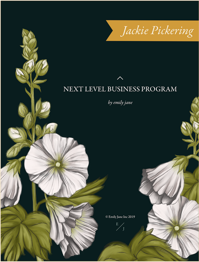 Emily Jane Inc Binder Cover