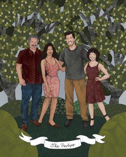 the makerie family illustrations pavlise