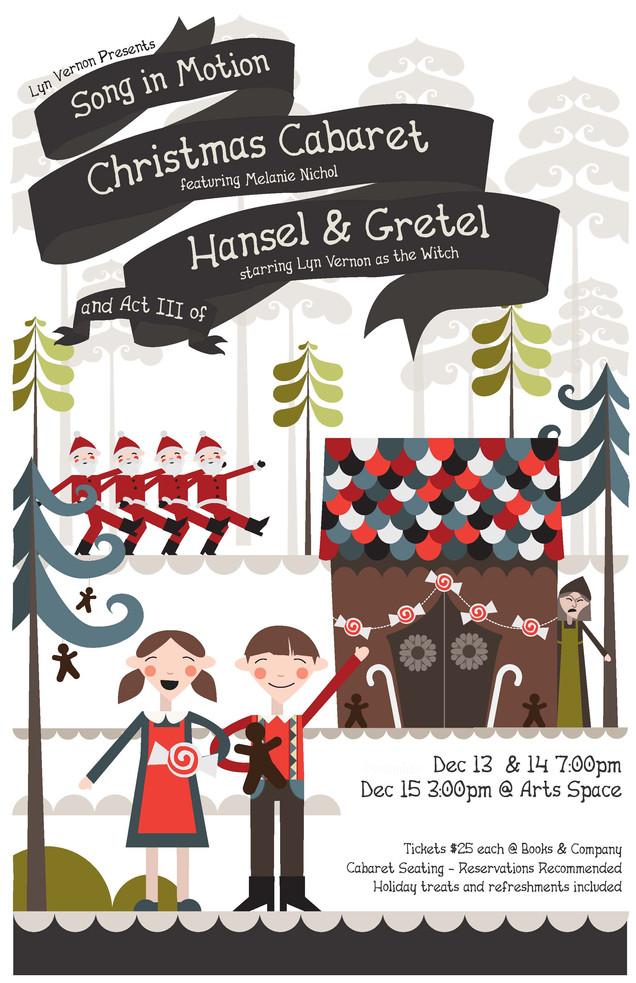 Christmas Cabaret Hansel & Gretel Poster