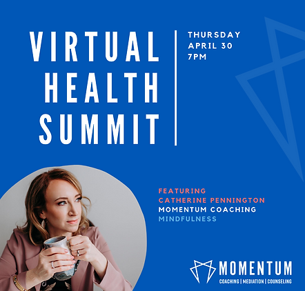 momentuum coaching virual health summit.