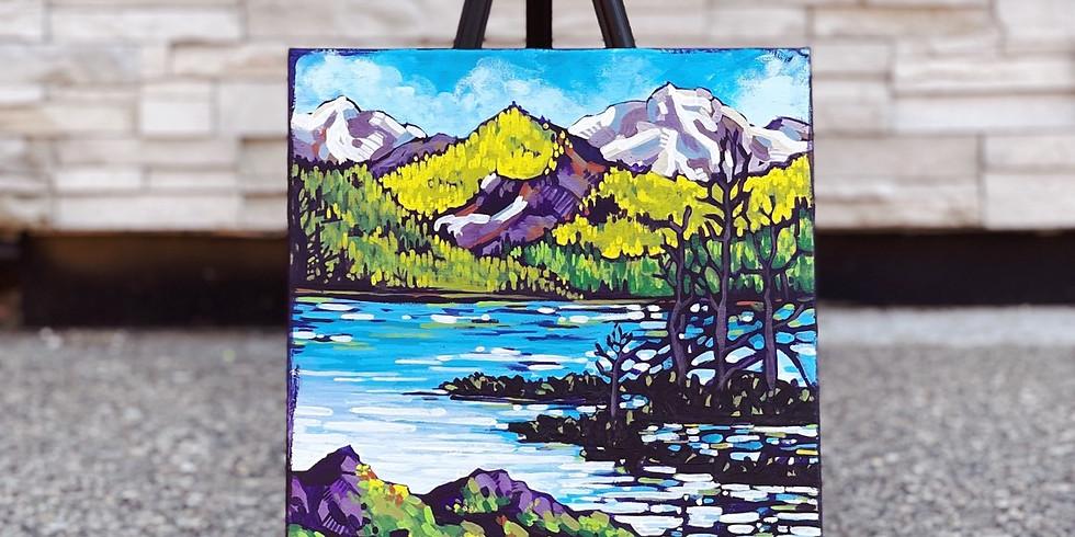 Friday Night Paint Night: Mountain Lake